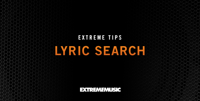 Art for LYRIC SEARCH.