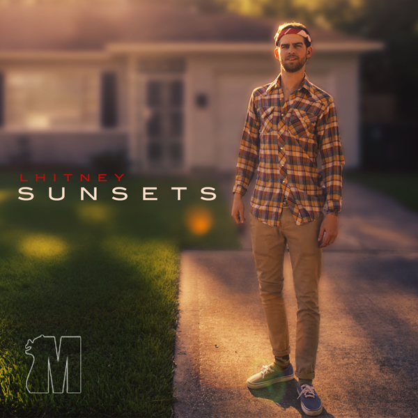 sunsets by lhitney album cover